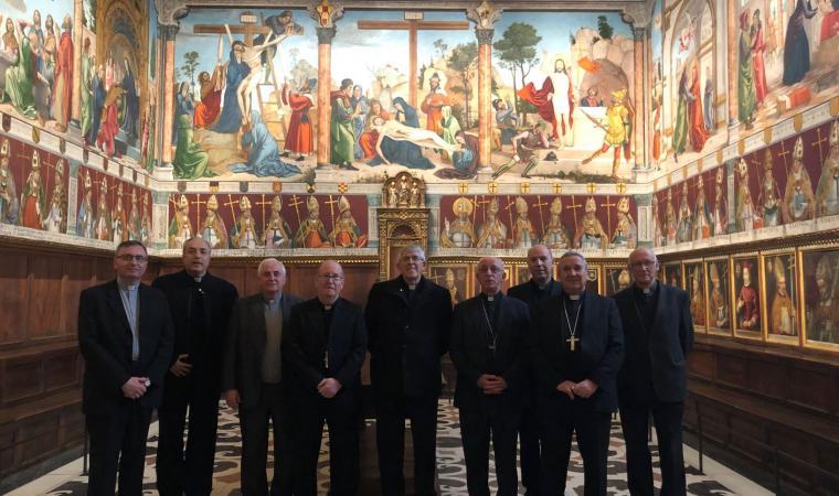 Los Obispos de la Provincia Eclesiástica de Toledo visitan la Sala Capitular¨¨¨¨