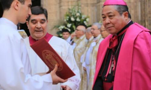 El Nuncio Apostólico en España impondrá el palio arzobispal a Mons. Francisco Cerro