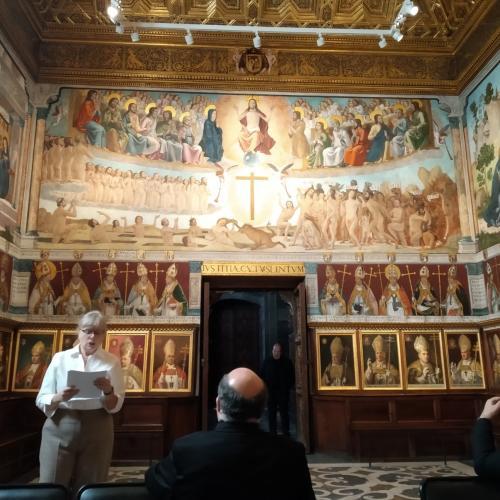 Simposio sobre Juan de Borgoña en la Sala Capitular