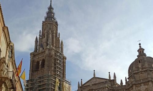 Finalizan las obras de restauración de la torre de la Catedral