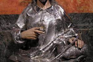Busto de San Juan Bautista