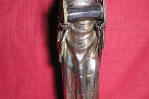 Estatua-relicario de S. Eugenio. S. XIV