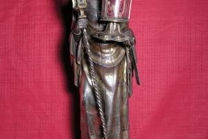 Estatua-relicario de S. Ildefonso. S. XIV