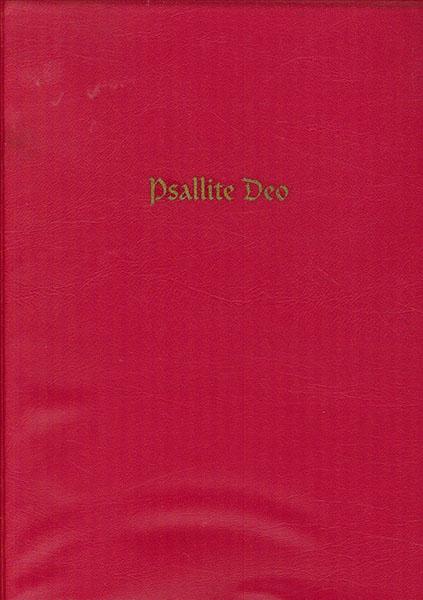 Psallite Deo. El canto coral dominical y solemne del Cabildo de Toledo
